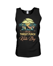 Vintage It's A Throat Punch Kinda Day Retro Unisex Tank thumbnail
