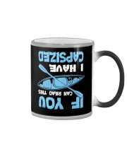 If You Can Read This Have Capsized Kayaking Lover Color Changing Mug thumbnail