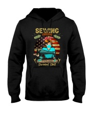Sewing is Not A Hobby It's A 2020 Survival Skill  Hooded Sweatshirt thumbnail
