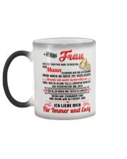 AN MEINE FRAU Color Changing Mug color-changing-left
