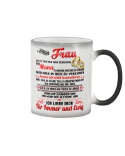 AN MEINE FRAU Color Changing Mug color-changing-right