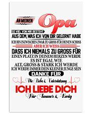 AN MEINEN OPA 11x17 Poster thumbnail