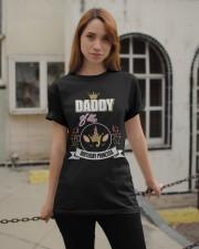 Daddy Of The Birthday Princess Floral Unicorn Classic T-Shirt apparel-classic-tshirt-lifestyle-19