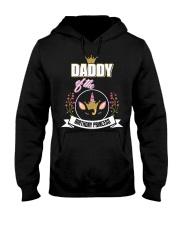 Daddy Of The Birthday Princess Floral Unicorn Hooded Sweatshirt thumbnail