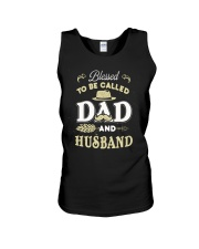Blessed Be Called Dad And Husband For Dad Husband Unisex Tank thumbnail