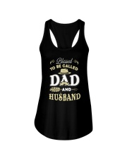 Blessed Be Called Dad And Husband For Dad Husband Ladies Flowy Tank thumbnail