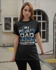 I'm Proud Dad Of Two Freaking Awesome Daughters  Classic T-Shirt apparel-classic-tshirt-lifestyle-19