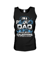 I'm Proud Dad Of Two Freaking Awesome Daughters  Unisex Tank thumbnail