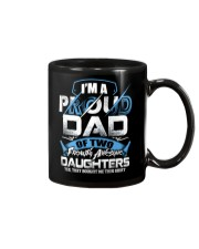 I'm Proud Dad Of Two Freaking Awesome Daughters  Mug thumbnail