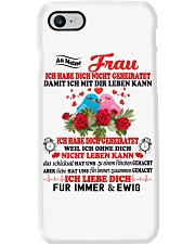 AN MEINE FRAU - FUR IMMER UND EWIG Phone Case tile