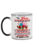 AN MEINE FRAU - FUR IMMER UND EWIG Color Changing Mug color-changing-left