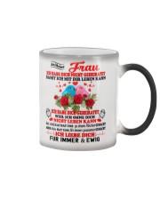 AN MEINE FRAU - FUR IMMER UND EWIG Color Changing Mug color-changing-right