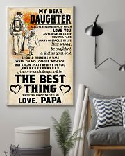 MY DEAR DAUGHTER - LOVE PAPA 11x17 Poster lifestyle-poster-1