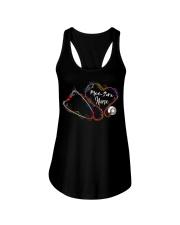 Colorful Smoke Heart Stethoscope Med-Surg Nurse Ladies Flowy Tank thumbnail