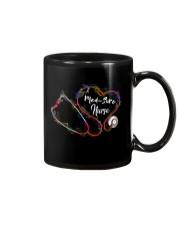 Colorful Smoke Heart Stethoscope Med-Surg Nurse Mug thumbnail