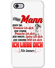 AN MEINEN MANN - ICH LIEBE DICH Phone Case tile