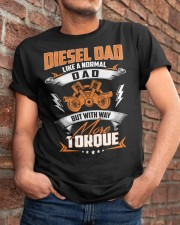 Diesel Dad Mechanic Dad Automobile Fathers Day Classic T-Shirt apparel-classic-tshirt-lifestyle-26