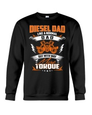 Diesel Dad Mechanic Dad Automobile Fathers Day Crewneck Sweatshirt thumbnail