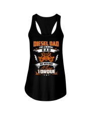 Diesel Dad Mechanic Dad Automobile Fathers Day Ladies Flowy Tank thumbnail