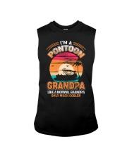 Mens Pontoon Grandpa Much Cooler Normal Sleeveless Tee thumbnail