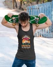 Mens Pontoon Grandpa Much Cooler Normal Unisex Tank apparel-tshirt-unisex-sleeveless-lifestyle-front-02