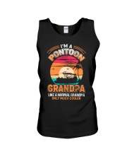 Mens Pontoon Grandpa Much Cooler Normal Unisex Tank thumbnail