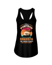 Mens Pontoon Grandpa Much Cooler Normal Ladies Flowy Tank thumbnail
