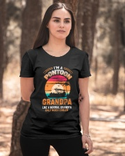 Mens Pontoon Grandpa Much Cooler Normal Ladies T-Shirt apparel-ladies-t-shirt-lifestyle-05