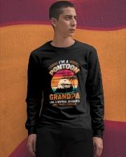 Mens Pontoon Grandpa Much Cooler Normal Long Sleeve Tee apparel-long-sleeve-tee-lifestyle-04