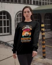 Mens Pontoon Grandpa Much Cooler Normal Long Sleeve Tee apparel-long-sleeve-tee-lifestyle-09