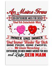 AN MEINE FRAU - DEINE MAIN 11x17 Poster thumbnail