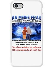 AN MEINE FRAU - ICH DICH LIEBE Phone Case tile