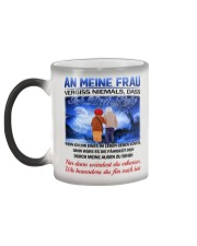 AN MEINE FRAU - ICH DICH LIEBE Color Changing Mug color-changing-left