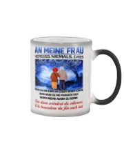 AN MEINE FRAU - ICH DICH LIEBE Color Changing Mug color-changing-right
