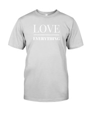 Love Over Everything Premium Fit Mens Tee front