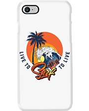 Live To Surf Surf To Live Classic T-shirt Phone Case thumbnail