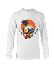 Live To Surf Surf To Live Classic T-shirt Long Sleeve Tee thumbnail