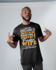 Perfect Freaking Husband Classic T-Shirt apparel-classic-tshirt-lifestyle-front-32