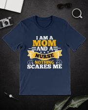 I am a mom and a nurse Classic T-Shirt lifestyle-mens-crewneck-front-16