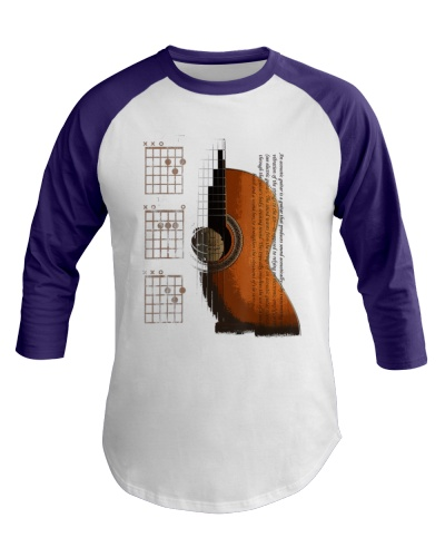 DAD Chords Acoustic Guitar T-Shirt