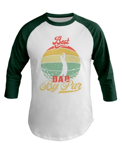 Best Dad By Par  Father's Day Gift Golf 2