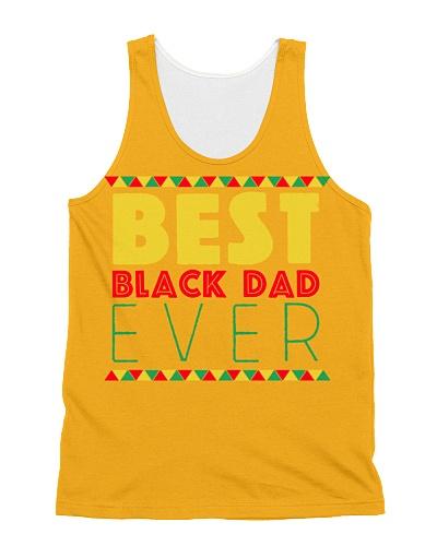 Best Black Dad Ever Retro Vintage father day
