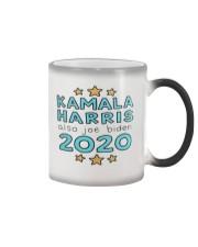 KAMALA HARRIS ALSO JOE BIDEN 2020 Color Changing Mug color-changing-right