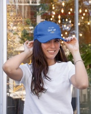 will you SHUT UP Man 2020 Embroidered Hat garment-embroidery-hat-lifestyle-04