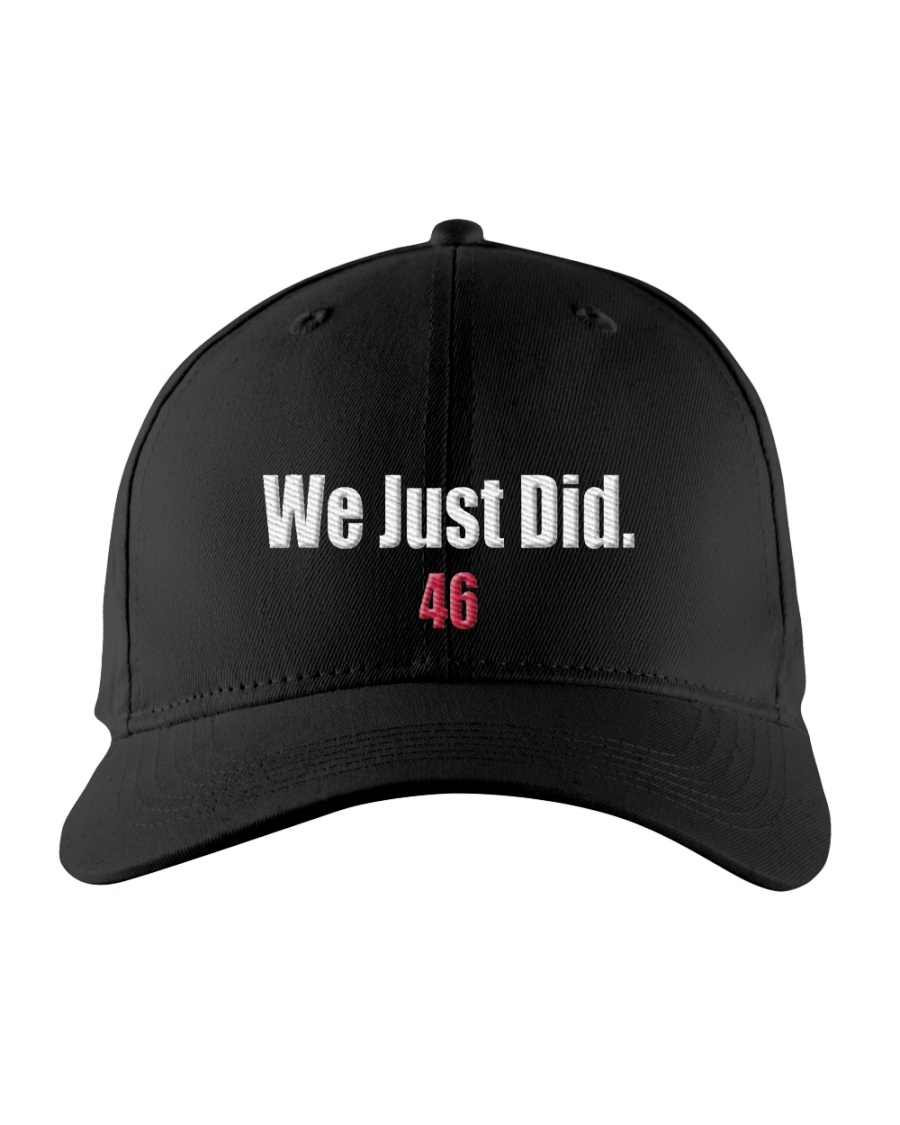 We Just Did 46 Baseball Hat Cap President J-Biden Embroidered Hat