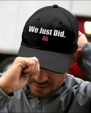 We Just Did 46 Baseball Hat Cap President J-Biden Embroidered Hat garment-embroidery-hat-lifestyle-01