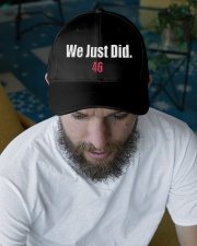 We Just Did 46 Baseball Hat Cap President J-Biden Embroidered Hat garment-embroidery-hat-lifestyle-06