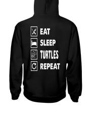 Eat-sleep-turtles-repeat Hooded Sweatshirt thumbnail