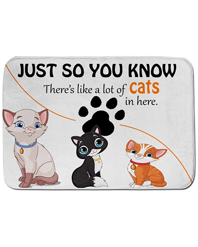 cats lovers mat