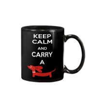 Keep Calm and Carry a Dachshund Mug thumbnail